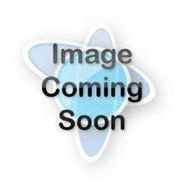 "Agena End Cap: ID = 1.83"" (46.5mm), Rubber, Black"