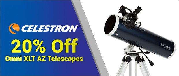 Celestron Omni XLT AZ Telescopes Sale