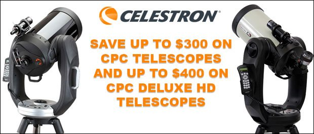 Celestron CPC Holiday Savings
