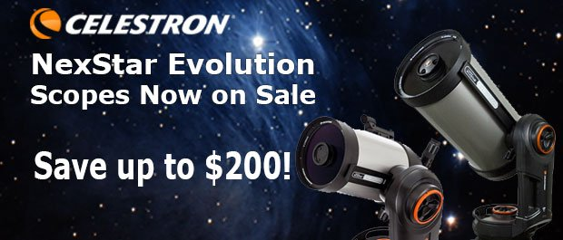 Celestron Nexstar Evolution Sale