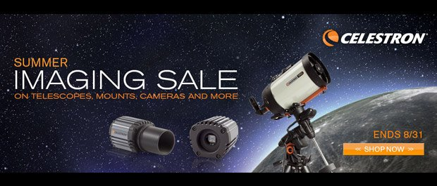 Celestron Summer Imaging Sale