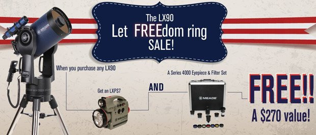 Meade Let FREEdom Ring Sale