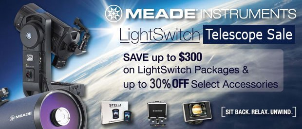 Meade LightSwitch Telescope Summer Sale
