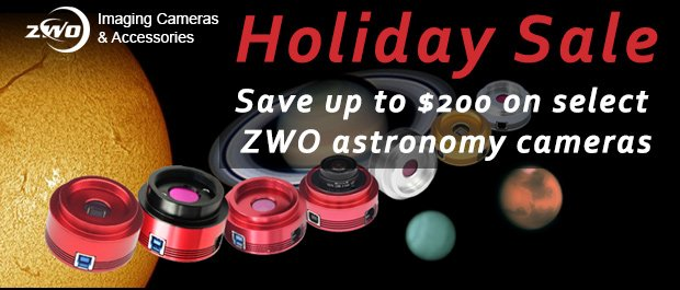 ZWO Holiday Sale