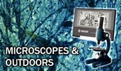 Microscopes and Outdoors