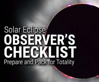 The Solar Eclipse Observer's Checklist